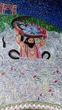 Lord Krishna stock image