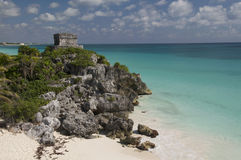 God of Winds Temple, Tulum Stock Image