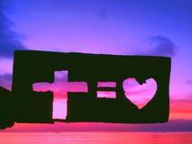 God& x27; s miłość Obraz Stock