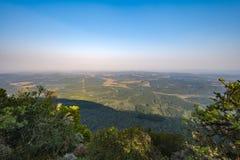 God& x27; s okno na słonecznym dniu, Mpumalanga, Południowa Afryka Fotografia Stock