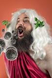 God Zeus Bacteria Stock Afbeeldingen