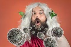 God Zeus Bacteria Royalty Free Stock Image