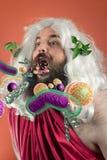 God Zeus Bacteria Stock Photography