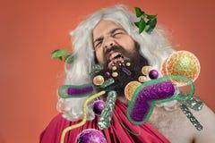 God Zeus Bacteria Stock Images
