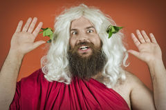 God Zeus Royalty Free Stock Images