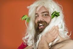 God Zeus Royalty Free Stock Photo