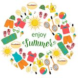 Goda dell'estate illustrazione vettoriale