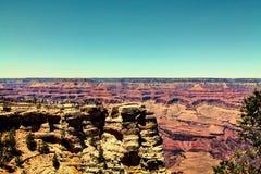 Goda della vista del Grand Canyon Fotografia Stock Libera da Diritti