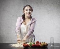Goda di di cucinare Fotografie Stock Libere da Diritti