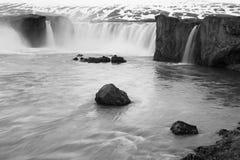 godafoss Ισλανδία Στοκ Φωτογραφία