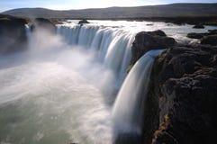 Godafoss στη βόρεια Ισλανδία στοκ φωτογραφίες