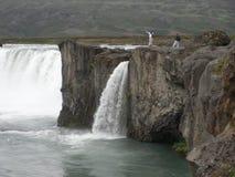 Godafoss-北部冰岛 免版税库存图片