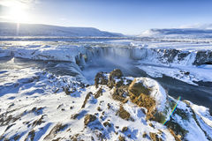 Godafoss Foto de Stock Royalty Free
