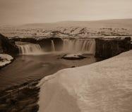 Godafoss en Islandia Imagen de archivo libre de regalías