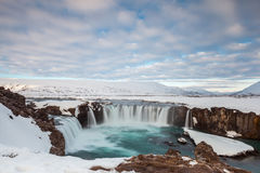 Godafoss fall in the morning, Iceland Stock Images