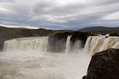 Godafoss in Iceland Royalty Free Stock Image