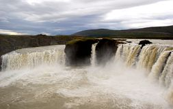 Godafoss in Iceland Stock Image