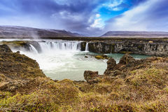 Godafoss, Iceland Royalty Free Stock Photos