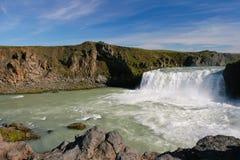 godafoss Iceland siklawa Zdjęcia Royalty Free
