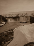 Godafoss  in iceland. Godafoss waterfall in norther iceland Stock Photography
