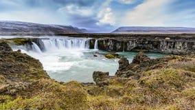 Godafoss, Islândia Fotos de Stock