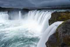 Godafoss, Islândia do norte Fotografia de Stock