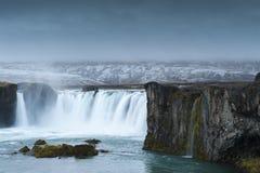 Godafoss, Islândia do norte Imagem de Stock