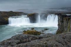 Godafoss, Islândia do norte Fotografia de Stock Royalty Free