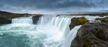 Godafoss, Islândia do norte Imagens de Stock
