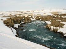 Godafoss in Island Stockbild