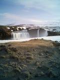 Godafoss in Island Stockfotografie