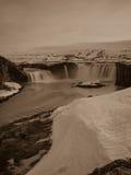 Godafoss in Islanda Fotografia Stock