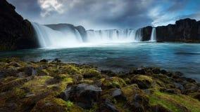 Godafoss, Islande du nord photographie stock