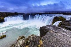 godafoss Islandii Obraz Royalty Free