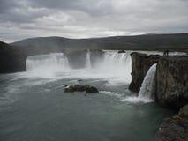 Godafoss- Noord-IJsland Stock Afbeelding