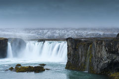 Godafoss, Northern Iceland Stock Image