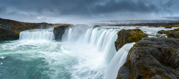 Godafoss, Northern Iceland Stock Images