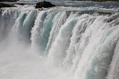 Godafoss vattenfall Arkivfoto