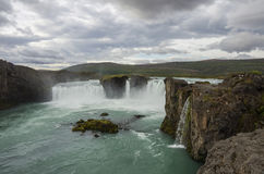 Godafoss is a very beautiful Icelandic waterfall. It is located Stock Photos