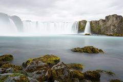 Godafoss is a very beautiful Icelandic waterfall. Royalty Free Stock Images
