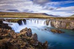 Godafoss Wasserfall Lizenzfreie Stockfotos