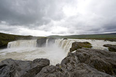 Godafoss Wasserfall Stockfotos