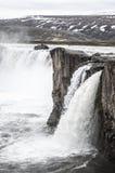 Godafoss Wasserfall Stockbilder