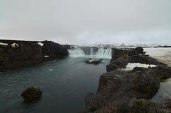 Godafoss Wasserfall Stockfotografie