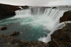 Godafoss Wasserfall Lizenzfreies Stockbild