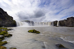 Godafoss waterfal Photo stock