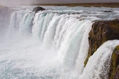 Godafoss waterfal inl Iceland Stock Photos