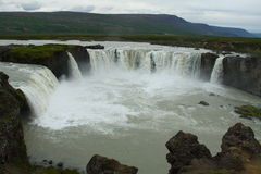 Godafoss waterfall Royalty Free Stock Images