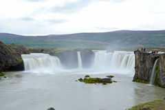 Godafoss waterfall Royalty Free Stock Image