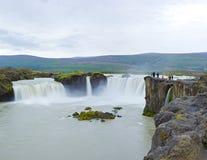 Godafoss waterfall Royalty Free Stock Photo
